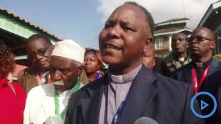 Clerics in Nyeri welcome politicians to politic in church during
