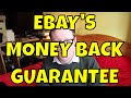 Sold as Seen! eBay Money Back Guarantee Experience for Item not as Described