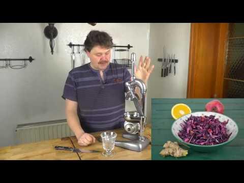 Saftpresse für Granatapfel und Zitrusfrüchte