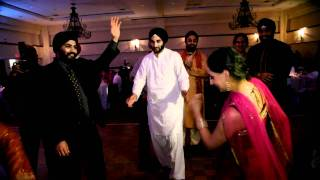 Indian Wedding Dance at A Wedding reception Recorded By Indian Wedding Cinematographer