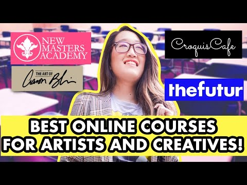 Best Online Courses For Artists And Creatives 2021