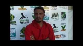 preview picture of video 'Serie D, San Cesareo-Ostiamare 0-3: Interviste a mister Chiappara e a Martinelli'