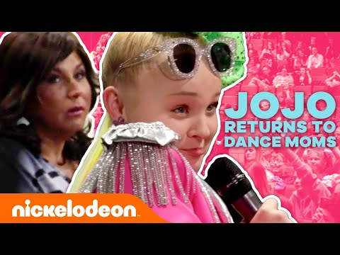 JoJo Siwa Returns to DANCE MOMS! 💃 | #NickStarsIRL