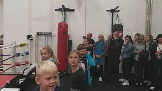 Predstavitev Juda na odprtju Fitnes centra Herkul Gym na Prevaljah, ki so jo pripravili člani Judo kluba Koroška.
