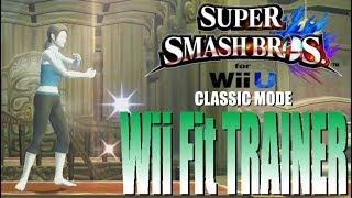 Super Smash Bros For Wii U - Classic Mode: Wii Fit Trainer