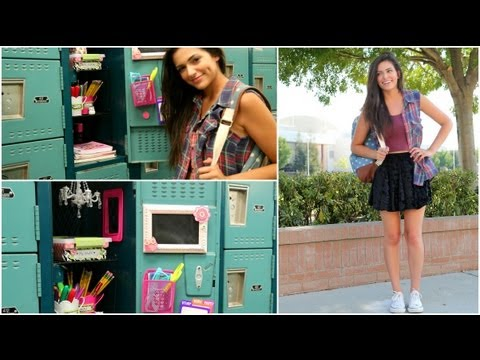 Back to School: Locker Organization + DIY Decorations!