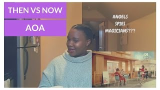 AOA Elvis & Excuse MeBing Bing [THEN Vs NOW] MV Reaction