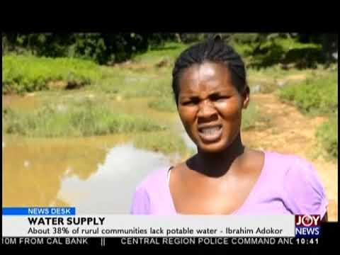 Water Supply - News Desk on JoyNews (22-8-18)