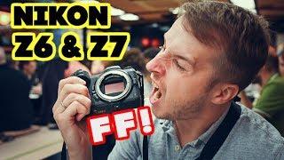 Nikon Z6 и Z7 - Получилось с 1-го раза, или провал? Первые впечатления. Репортаж из Токио