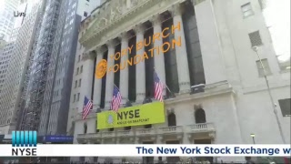 The Tory Burch Foundation Rings the NYSE Opening Bell