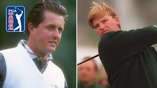 Phil Mickelson Vs Ernie Els At Golf Del Sur | 1995 Shells Wonderful World Of Golf