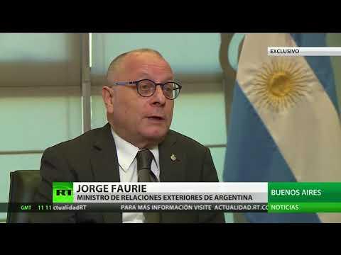 """Canciller argentino: """"Tener buenas relaciones con EE.UU. no pasa por tener 'relaciones carnales'"""""""