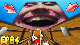 TROLLING WITH MY GIANT HEAD!! Minecraft Hacker Trolling EP84