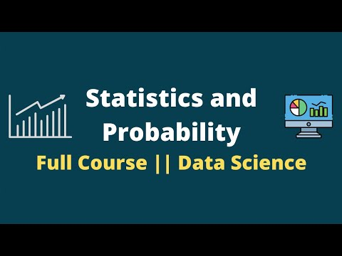 Statistics and Probability Full Course || Statistics For Data Science ...