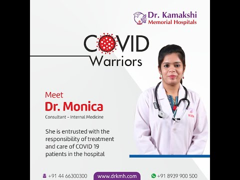 drkmh-Dr. MONICA - COVID WARRIORS OF DR.KMH