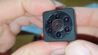 Die unauffällige Mini spy Kamera euskDE Überwachungskamera Infrarot Nachtsicht Bewegungserkennung
