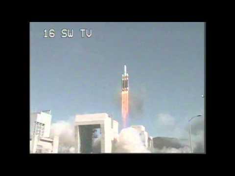 Giant F*cking Rocket Carries Spy Satellite Into Orbit