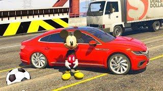СУПЕР Гонки #Машинки Микки Мауса в ГТА 5 - Сериал для мальчиков - GTA 5 мультики про машинки