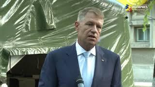 Iohannis: Ne apropiem periculos de mult de limita superioară a sistemului de ATI