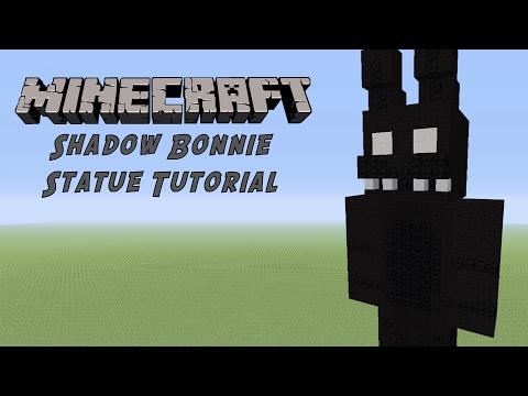 Minecraft Tutorial: Spring Bonnie (FNAF World) Statue