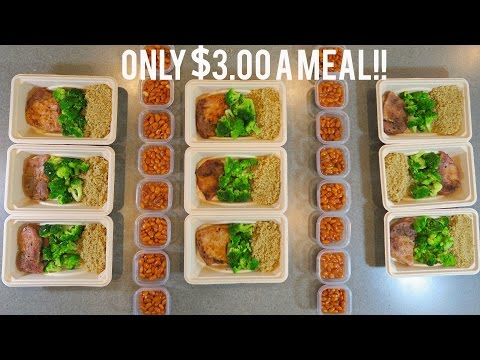 Video The ULTIMATE meal prep!! PACKED WITH PROTEIN! | Bulk/ Shred Ep.6