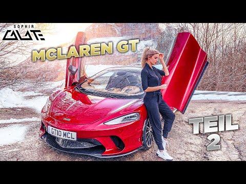 Ich im McLaren GT | Katze im Auto und unreale Straßen!