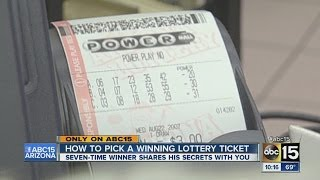 How to pick a winning lottery ticket
