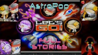 AstroPop Deluxe - Full Stories In Classic Mode (All Characters)