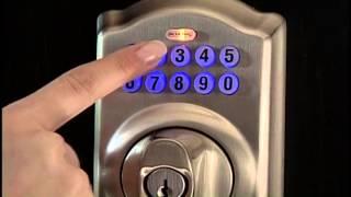 Schlage BE365 PLY 619 Plymouth Keypad Deadbolt, Satin Nickel Reviews