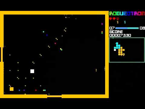 Video of Rogueotron (#1gam edition)