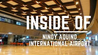Inside of Ninoy Aquino International Airport Manila 2018