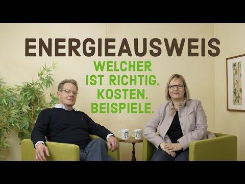 Energieausweis praktisch: Beispiele, Kosten, wann welchen