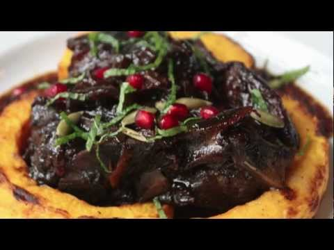 Lamb Braised in Pomegranate Juice – Braised Lamb Shoulder Recipe