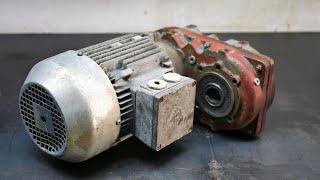 Restoration - 3 Phase Helical Gear Motor