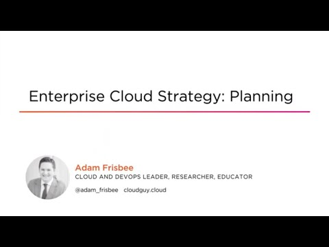 Cloud Skills: Enterprise Cloud Strategy: Planning Course ... - YouTube