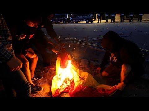 Καταλονία: Διαδηλώσεις υπέρ των αποσχιστών