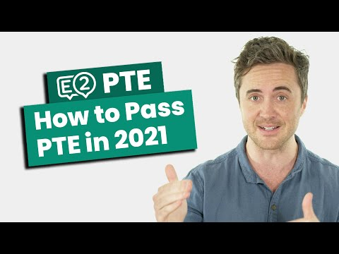 How to Pass PTE in 2021 - NEW TIPS! - YouTube