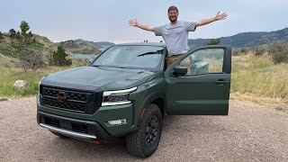 2022 Nissan Frontier Full Driving Review! Putting This Long-Awaited Pickup Through Its Paces