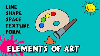 Elements Of Art, Beginners Drawing Course 4, By Silly Kids