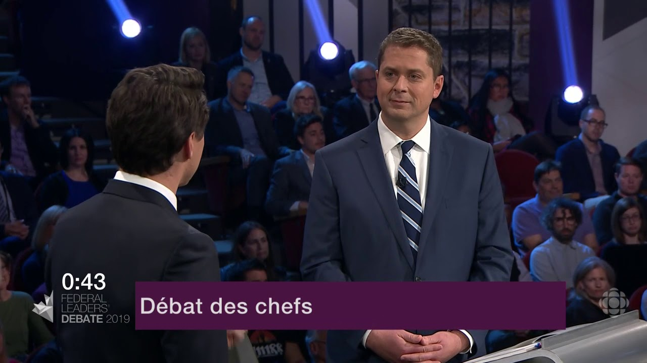 Question d'Andrew Scheer à Justin Trudeau