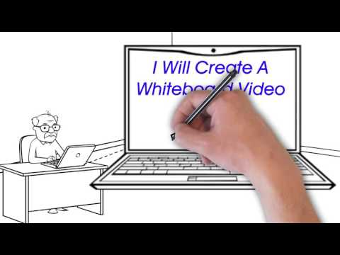 Fiverr.com Whiteboard Animated Video Gig