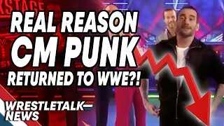 Real Reason CM Punk RETURNED To WWE?! | WrestleTalk News Nov. 2019
