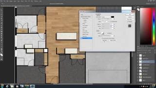 How to create a 2D colour floor plan video tutorial Part 2 by 2d Plan Images