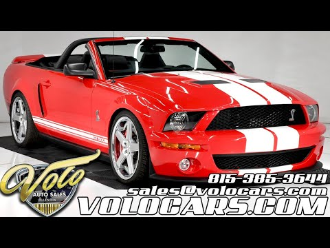 2007 Shelby GT500 (CC-1429132) for sale in Volo, Illinois