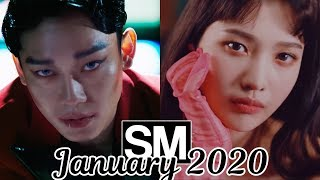 [TOP 100] Most Viewed SM Kpop MVs [January 2020]