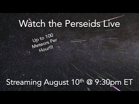Perseid Meteor Shower Live – Day 3 – See Description for Meteor Timestamps