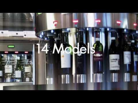 Enoround® ELITE 16-bottle Circular Kiosk Wine pub system sold by Enomatic Wine Serving Systems