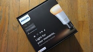 Philips Hue White Ambiance Starter Kit (2 Hue White Ambiance bulbs, Hue Bridge, Switch)