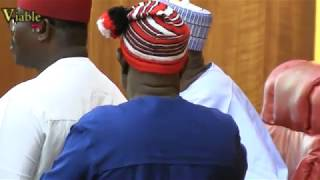Just In : Rowdy Session, As South-East Senators Alleged Buhari