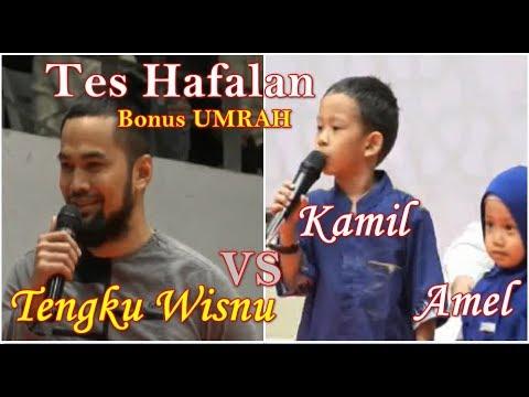 Alhamdulillah Tengku wisnu Tes Hafalan Bonus Umrah Sama Ustadz Adi Hidayat, Lc. MA